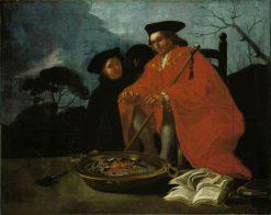 El Medico(also known as The Doctor)   Francisco de Goya y Lucientes   Oil Painting