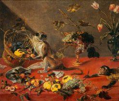 Mischievous Monkeys | Frans Snyders | Oil Painting