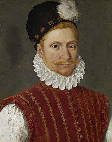 Sir William Kirkaldy of Grange | Francois Clouet | Oil Painting