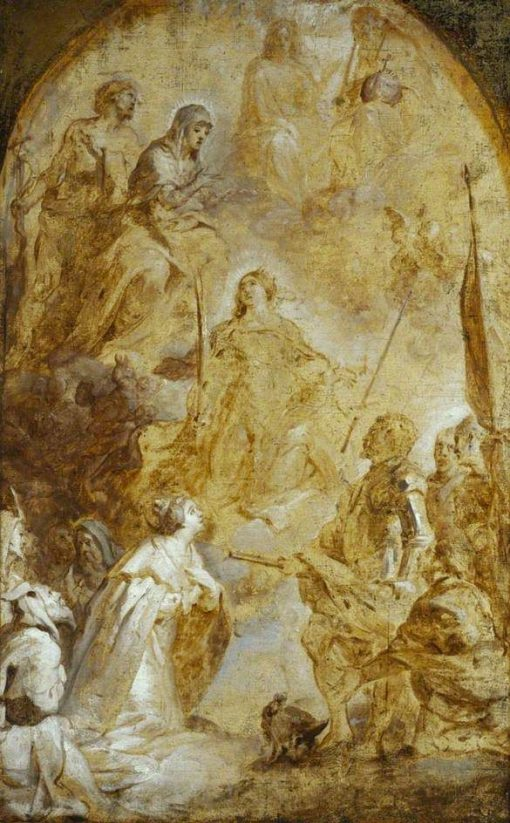 The Ascension of Saint Catherine | Gaspard de Crayer | Oil Painting