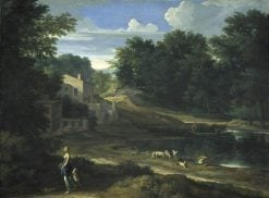 Classical Landscape with a Lake | Gaspard Dughet | Oil Painting
