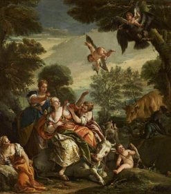 The Rape of Europa (after Veronese) | Giovanni Battista Tiepolo | Oil Painting