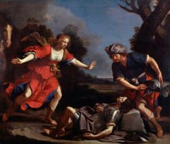 Erminia finding the Wounded Tancred | Guercino | Oil Painting