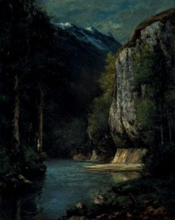 A River in a Gorge | Gustave Courbet | Oil Painting