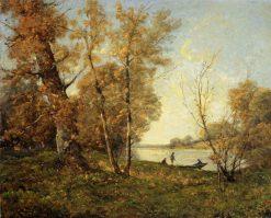 Banks of the Loire | Henri Joseph Harpignies | Oil Painting