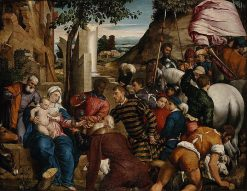 The Adoration of the Kings | Jacopo Bassano | Oil Painting