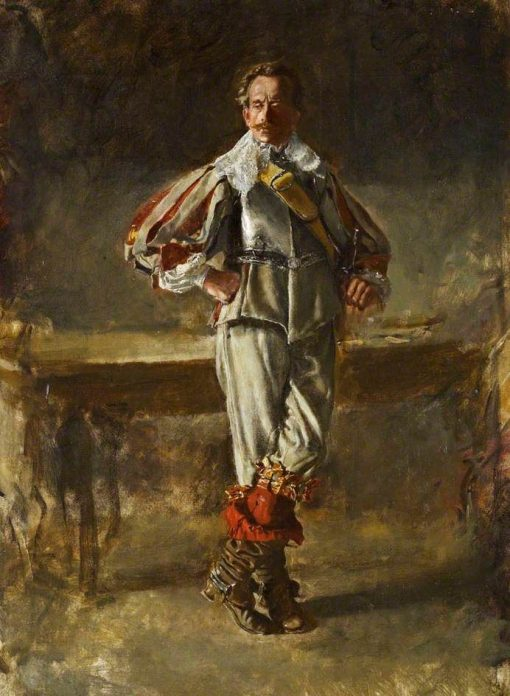 A Gentleman of the Reign of Louis XIII | Jean Louis Ernest Meissonier | Oil Painting