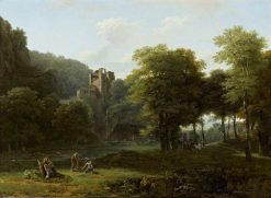 Classical Landscape | Jean Victor Bertin | Oil Painting