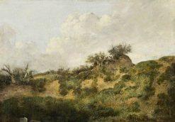 A Sandy Bank | John Crome | Oil Painting