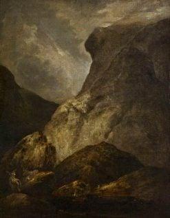 A Mountain Scene | John Crome | Oil Painting
