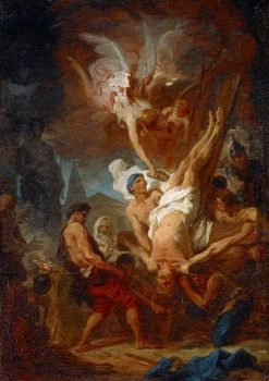 The Crucifixion of Saint Peter | Pierre Subleyras | Oil Painting