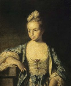 A Little Girl (possibly Lady Frances Scott