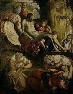 Christ Carried to the Tomb | Tintoretto | Oil Painting