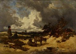 A Heath Scene | William James Muller | Oil Painting