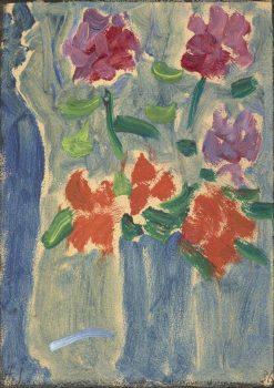 Flowers in a Vase   Alexei von Jawlensky   Oil Painting