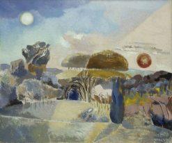 Landscape of the Vernal Equinox (III) | Paul Nash | Oil Painting