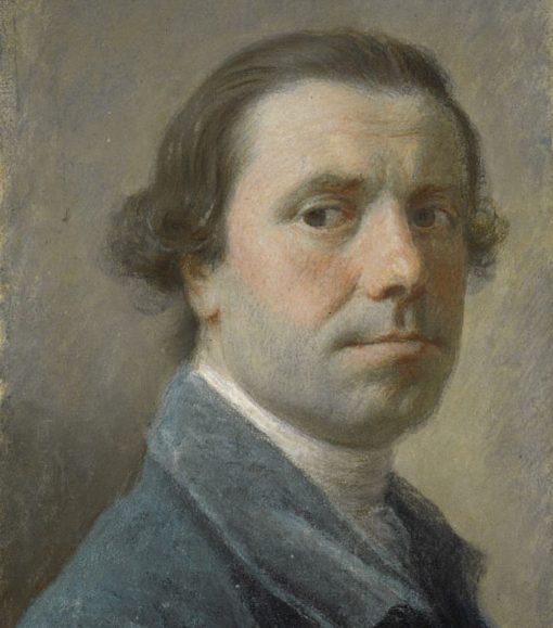 Self Portrait   Allan Ramsay   Oil Painting