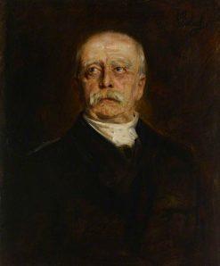 Prince Otto von Bismarck (1815-1898)   Franz von Lenbach   Oil Painting
