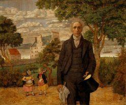 Sir Alexander Morison   Richard Dadd   Oil Painting