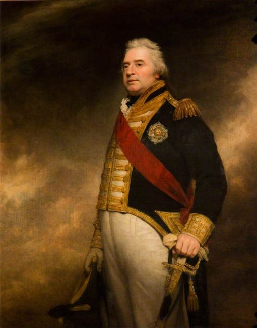 Admiral Sir George Campbell | Sir William Beechey | Oil Painting