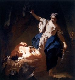 Judith and Holofernes | Giovanni Battista Piazzetta | Oil Painting