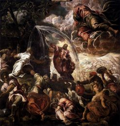 Moses Drawing Water from the Rock | Tintoretto | Oil Painting