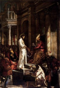 Christ Before Pilate | Tintoretto | Oil Painting