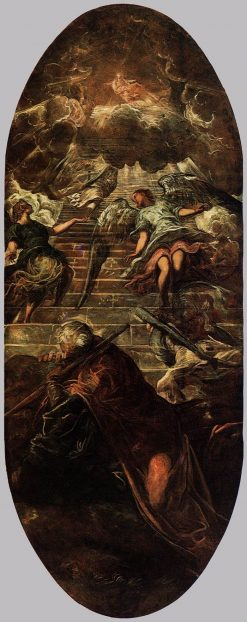 Jacob's Ladder | Tintoretto | Oil Painting