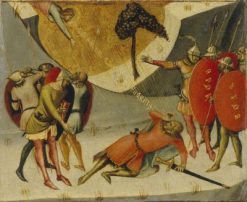 The Conversion of Saint Paul   Luca di TommE   Oil Painting
