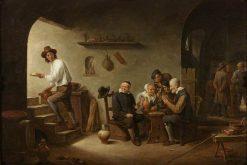Interior of a Tavern | David Teniers II | Oil Painting