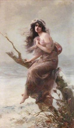 Winter | Edouard Bisson | Oil Painting