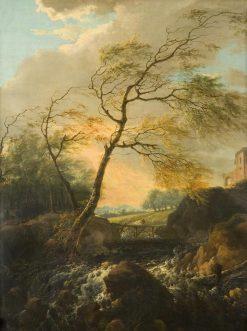 A Windy Day | Gerard van Nijmegen | Oil Painting