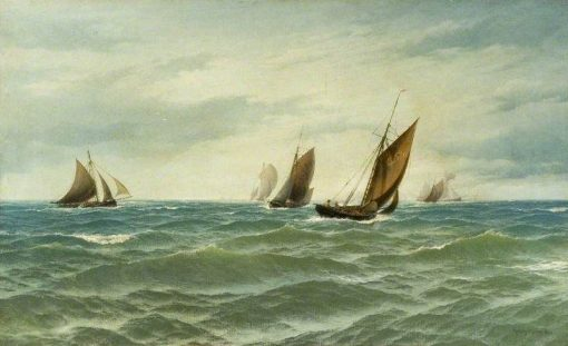 Seascape | Henry Moore | Oil Painting
