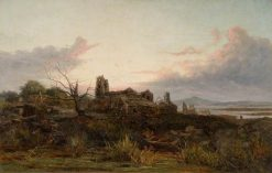 The Deserted Village (Goldsmith's) | James Holland | Oil Painting
