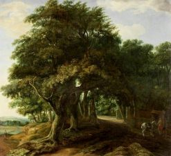 Landscape: The Edge of a Wood | Philips Koninck | Oil Painting