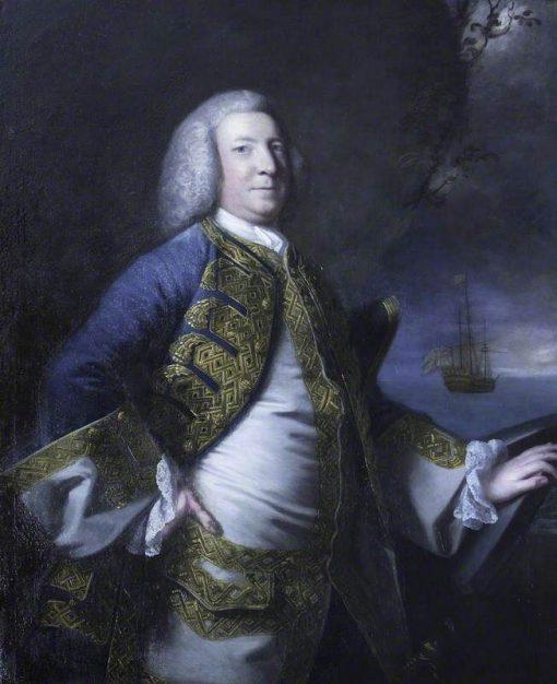 Admiral Sir George Anson