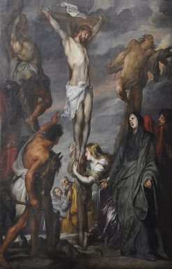 Crist on the Cross | Anthony van Dyck | Oil Painting