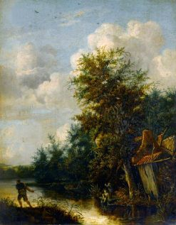 A Landscape   Cornelis Gerritsz. Decker   Oil Painting