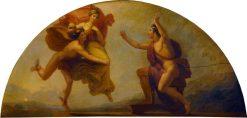 Epimetheus Receiving Pandora   Henry Howard   Oil Painting