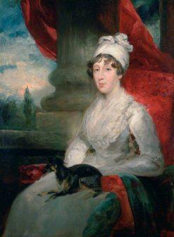 An Unfinished Portrait of Mrs Soane   John Jackson   Oil Painting