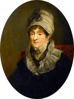 Portrait of a Lady   John Jackson   Oil Painting