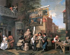 An Election: 2.Canvassing for Votes   William Hogarth   Oil Painting