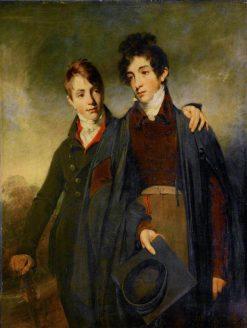 John Soane Junior and George Soane   William Owen   Oil Painting