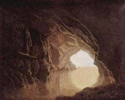 Cave in Evening | Joseph Wright of Derby | Oil Painting