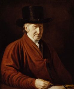 Self Portrait   Benjamin West   Oil Painting