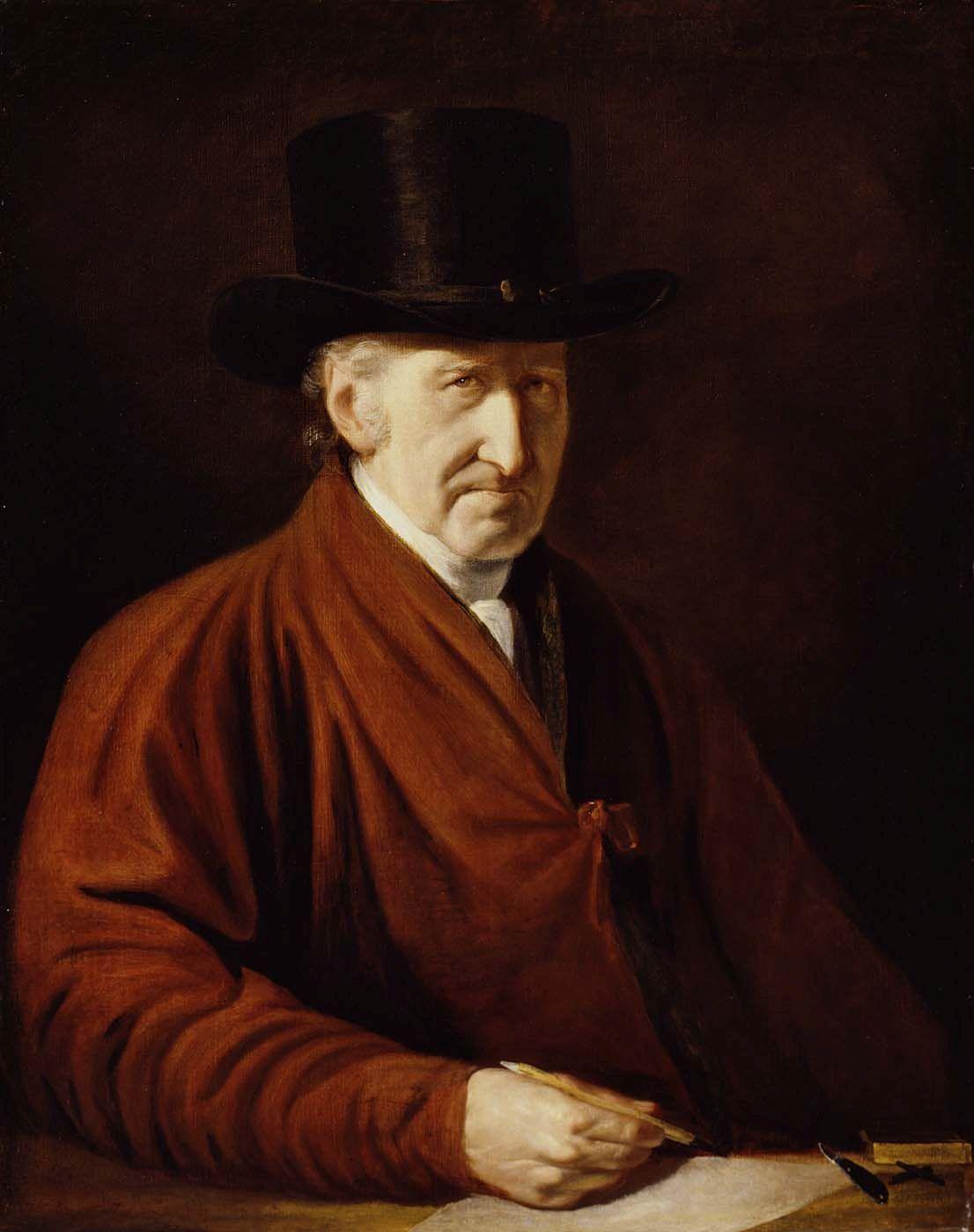 Self Portrait | Benjamin West | Oil Painting