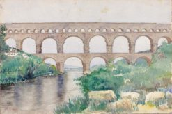 Aquaduct | Cass Gilbert | Oil Painting