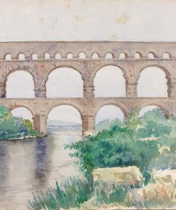 Aquaduct | Cass Gilbert | Oil Painting