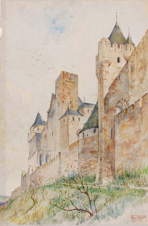 Battlements of Carcassonne