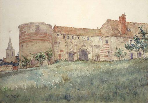 Chateau de l'Houblouniere | Cass Gilbert | Oil Painting